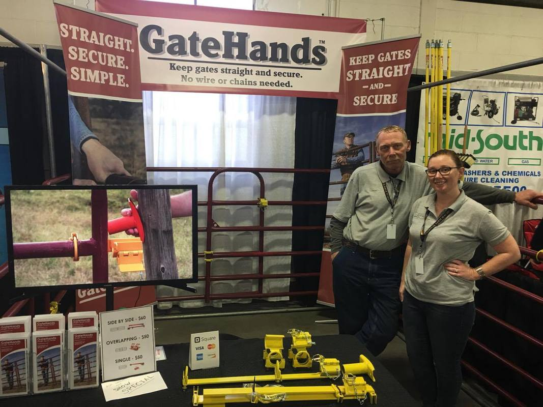 GateHands gate latch NFMS